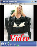 Lady Vanessa Video 16 Latex and ballet heels