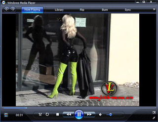 Lady Vanessa Video 32 Green Boots