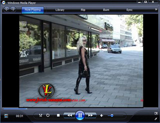 Lady Vanessa Video 38 Black Latex in Munich