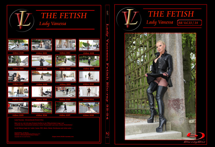 Lady Vanessa Fetish Blu-ray 33-34 Cover
