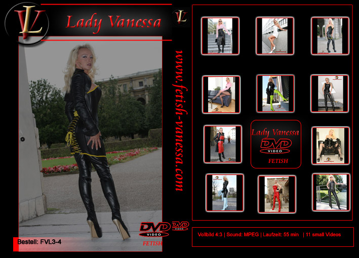 Lady Vanessa Fetish DVD 3-4 Cover