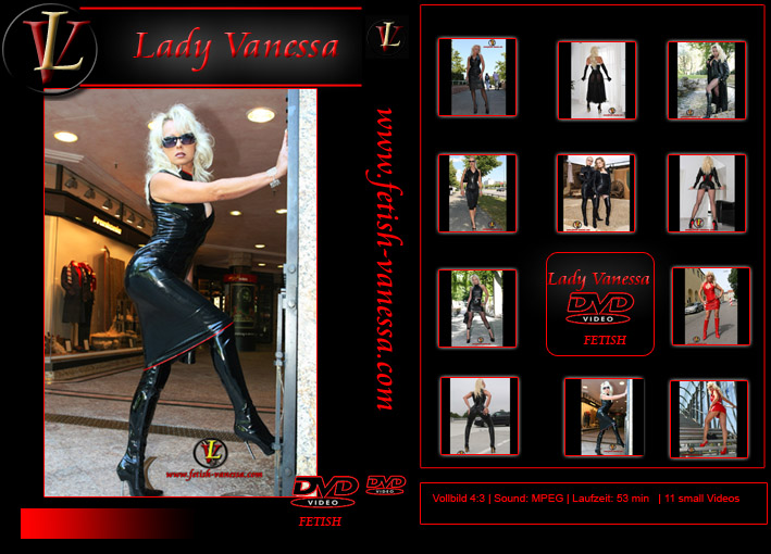 Lady Vanessa Fetish DVD 5-6 Cover
