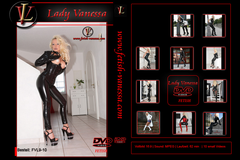 Lady Vanessa Fetish DVD 9-10 Cover