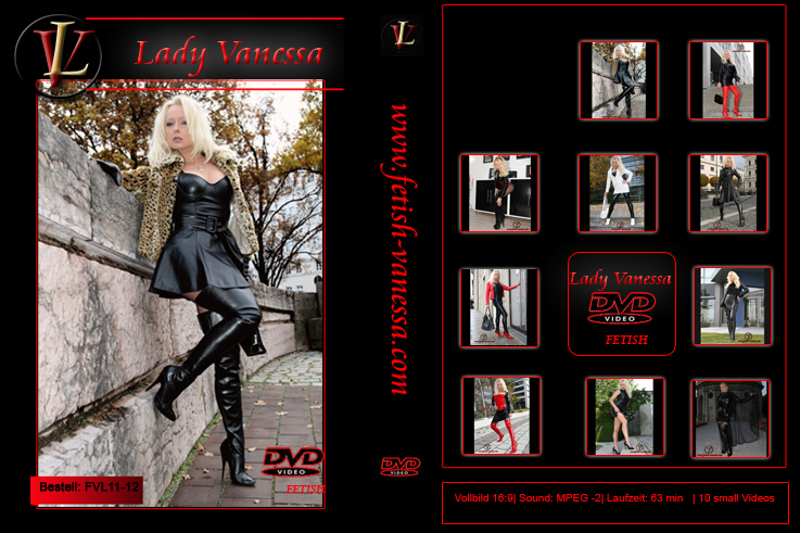 Lady Vanessa Fetish DVD 11-12 Cover