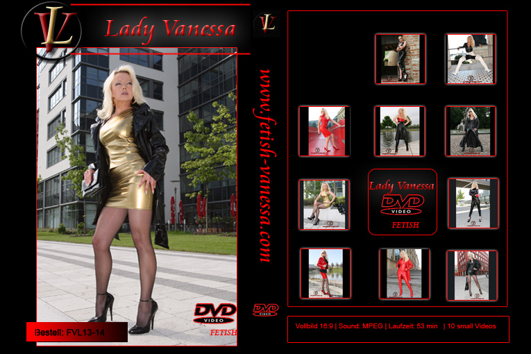 Lady Vanessa Fetish DVD 13-14 Cover