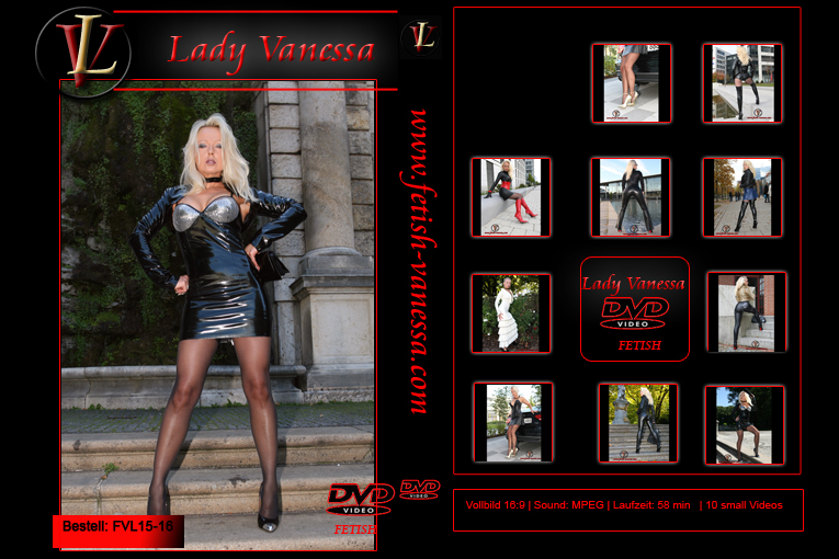 Lady Vanessa Fetish DVD 15-16 Cover