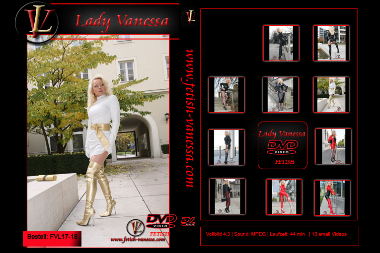 Lady Vanessa Fetish DVD 17-18 Cover