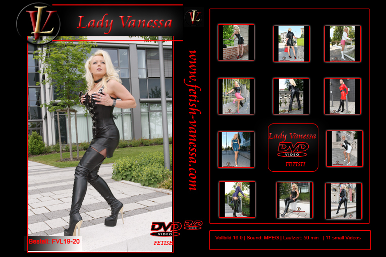 Lady Vanessa Fetish DVD 19-20 Cover
