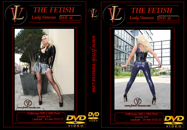 Lady Vanessa Fetish DVD 21-22 Cover