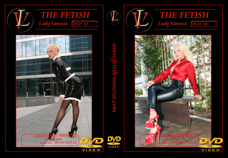 Lady Vanessa Fetish DVD 23-24 Cover