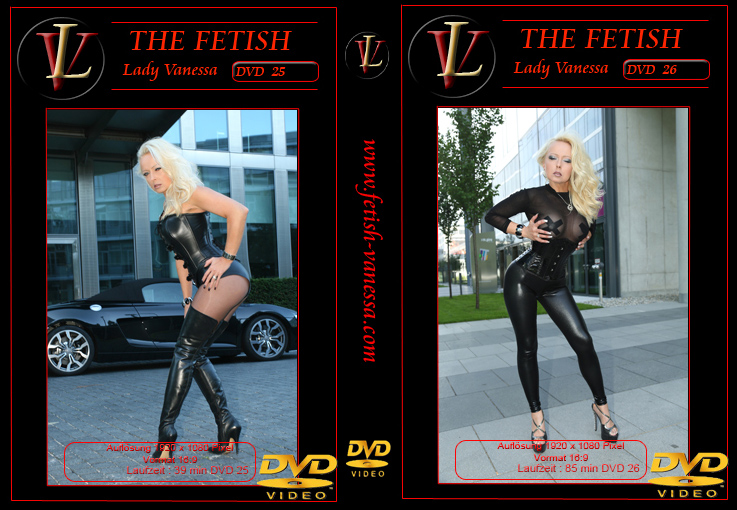 Lady Vanessa Fetish DVD 25-26 Cover