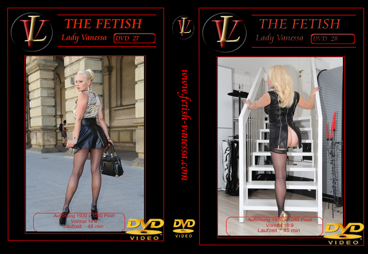 Lady Vanessa Fetish DVD 27-28 Cover