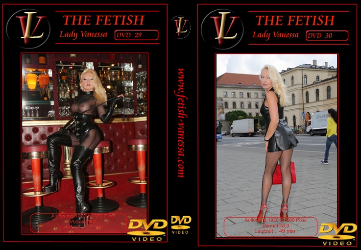 Lady Vanessa Fetish DVD 29-30 Cover