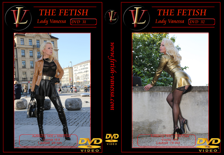 Lady Vanessa Fetish DVD 31-32 Cover
