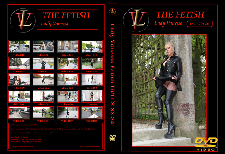 Lady Vanessa Fetish DVD 33-34 Cover