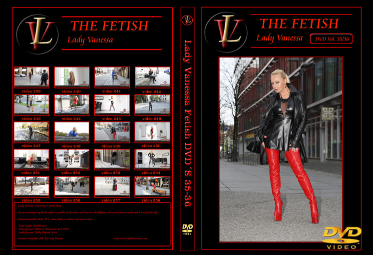 Lady Vanessa Fetish DVD 35-36 Cover