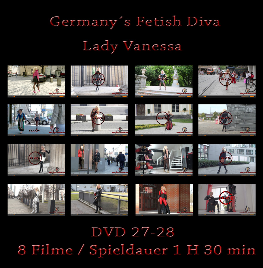 Lady Vanessa Fetish DVD 27-28 Index