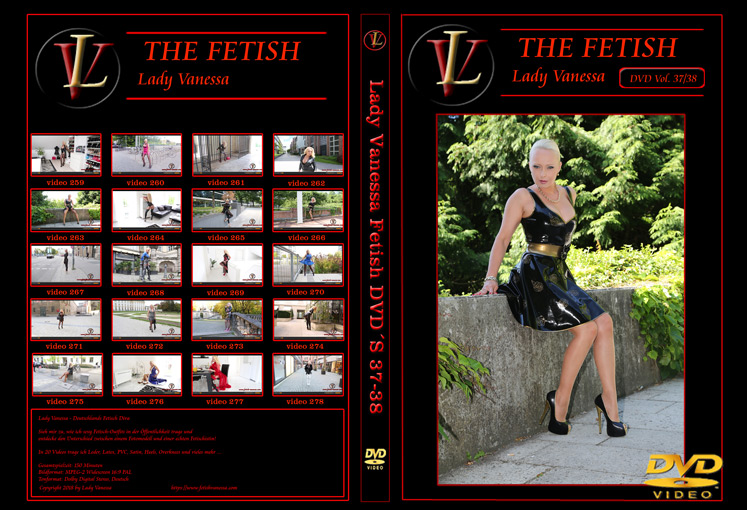 Lady Vanessa Fetish DVD 37-38 Cover