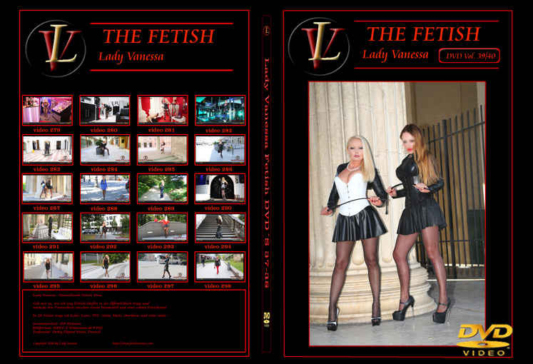Lady Vanessa Fetish DVD 39-40 Cover